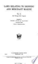 Laws Relating to Shipping and Merchant Marine