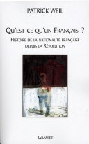 Pdf Qu'est-ce qu'un français ? Telecharger