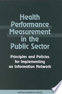 Health Performance Measurement in the Public Sector