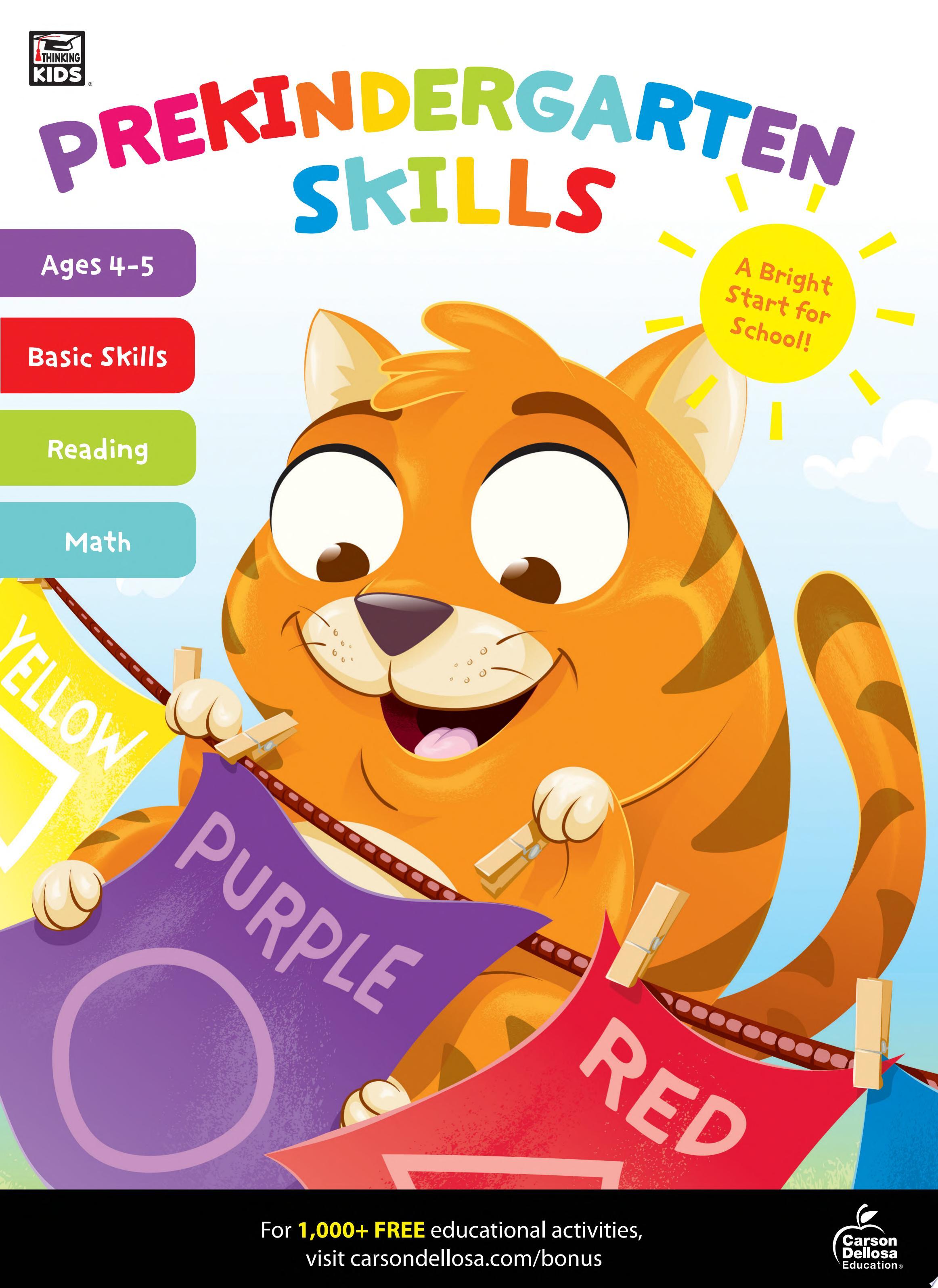 Prekindergarten Skills