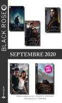 Pack Mensuel Black Rose : 11 romans (Septembre 2020)