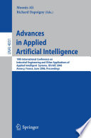 Advances in Applied Artificial Intelligence
