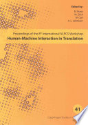 Human Machine Interaction In Translation
