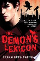 The Demon s Lexicon Book PDF