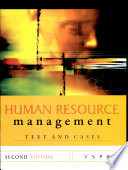 """Human Resources Management: Text and Cases"" by Rao"