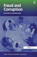 Fraud and Corruption Pdf/ePub eBook