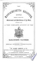 The Massachusetts Register and United States Calendar for the Year of Our Lord ...
