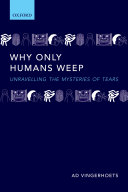 Why Only Humans Weep