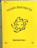 Taoist Resources