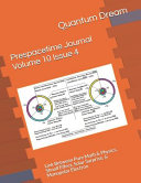 Prespacetime Journal Volume 10 Issue 4
