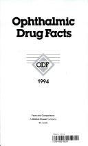 Ophthalmic Drug Facts 1994