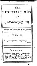 The Lucubrations of Isaac Bickerstaff, Esquire