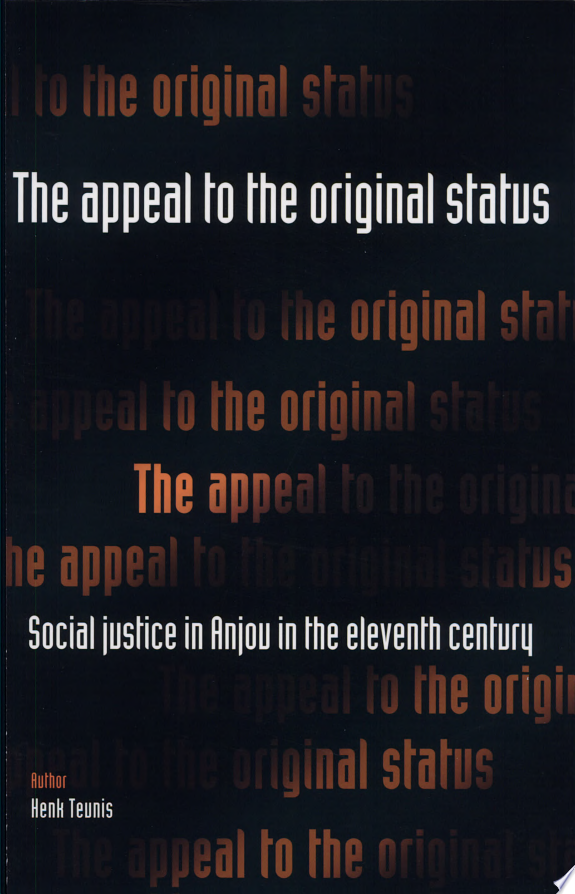 The Appeal to the Original Status
