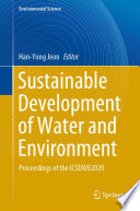 Sustainable Development of Water and Environment Book