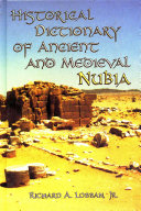 Pdf Historical Dictionary of Ancient and Medieval Nubia Telecharger