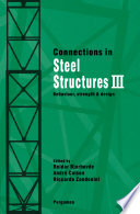 Connections in Steel Structures III Book