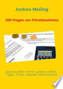 100 Fragen Zur Privatinsolvenz