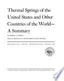 U S  Geological Survey Professional Paper Book