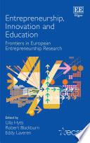 Entrepreneurship Innovation And Education Book PDF