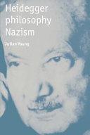 Heidegger  Philosophy  Nazism