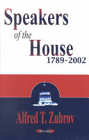 Speakers of the House 1789 2002
