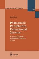 Phanerozoic Phosphorite Depositional Systems