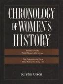 Chronology of Women s History