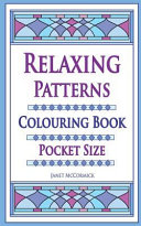 Relaxing Patterns Colouring Book Pocket Size