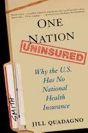 Pdf One Nation, Uninsured