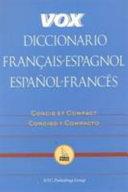 Vox Diccionario Fran  ais Espagnol Espa  ol Franc  s