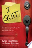 I Quit  Book