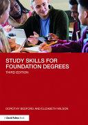Study Skills for Foundation Degrees Pdf/ePub eBook