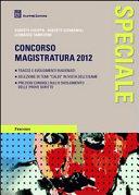 Concorso magistratura 2012