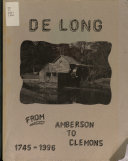De Long   from Aberson to Clemons  1745 1996