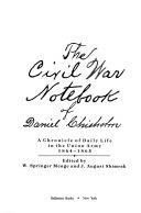 The Civil War Notebook of Daniel Chisholm