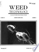 Weed Technology  : A Journal of the Weed Science Society of America , Band 15