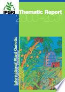 Ipgri Thematic Report 2000 2001 Book PDF