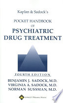 Kaplan and Sadock's Pocket Handbook of Psychiatric Drug Treatment