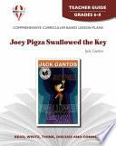 Joey Pigza Swallowed the Key Teacher Guide