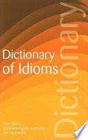 Dictionary of Idioms Book PDF