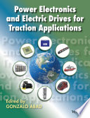 Power Electronics And Electric Drives For Traction Applications Book PDF