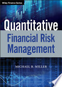 Quantitative Financial Risk Management