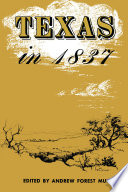 Texas in 1837