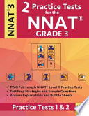 2 Practice Tests for the NNAT Grade 3 Level D