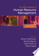 The SAGE Handbook of Human Resource Management