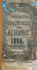 Landreth's Rural Register and Almanac ... ebook