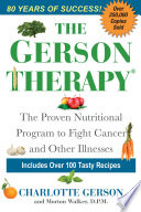 The Gerson Therapy    Revised And Updated