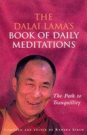 The Dalai Lama's Book Of Daily Meditations