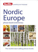 Berlitz Language: Nordic Europe Phrase Book and Dictionary