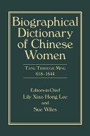 Biographical Dictionary of Chinese Women, Volume II Pdf/ePub eBook